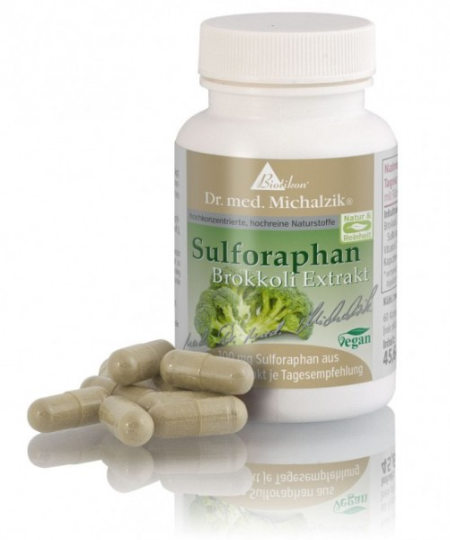 Sulforaphan aus Brokkoli-Extrakt nach Dr. med. Michalzik