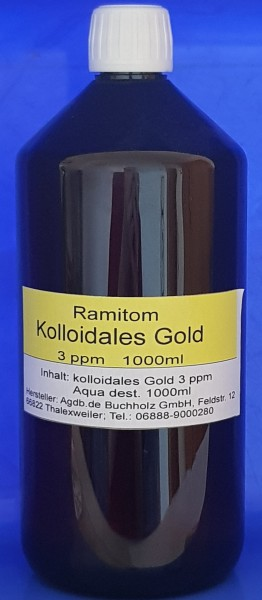 Kolloidales Gold 1000ml