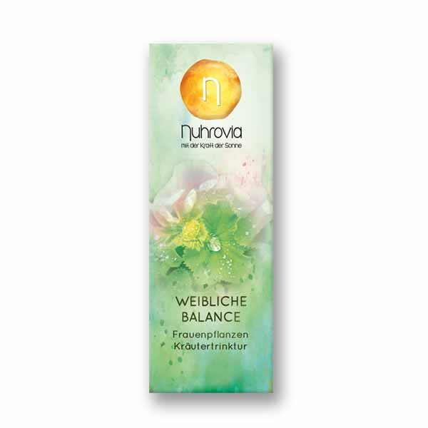 Weibliche Balance - Frauenpflanzen Kräutertrinktur 50 ml