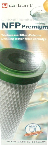 Carbonit Kohlefilter Nachfüllpatrone