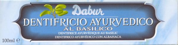 Zahnpasta Dabur Basilikum