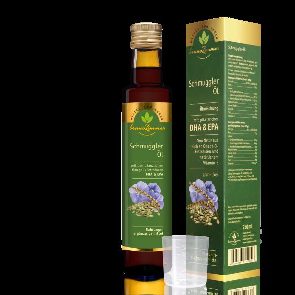Schmuggler Öl 250ml mit Omega 3 (DHA+EPA)