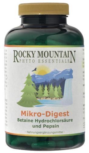 Rocky Mountain Phyto Essentials Mikro Digest 250 Kps.